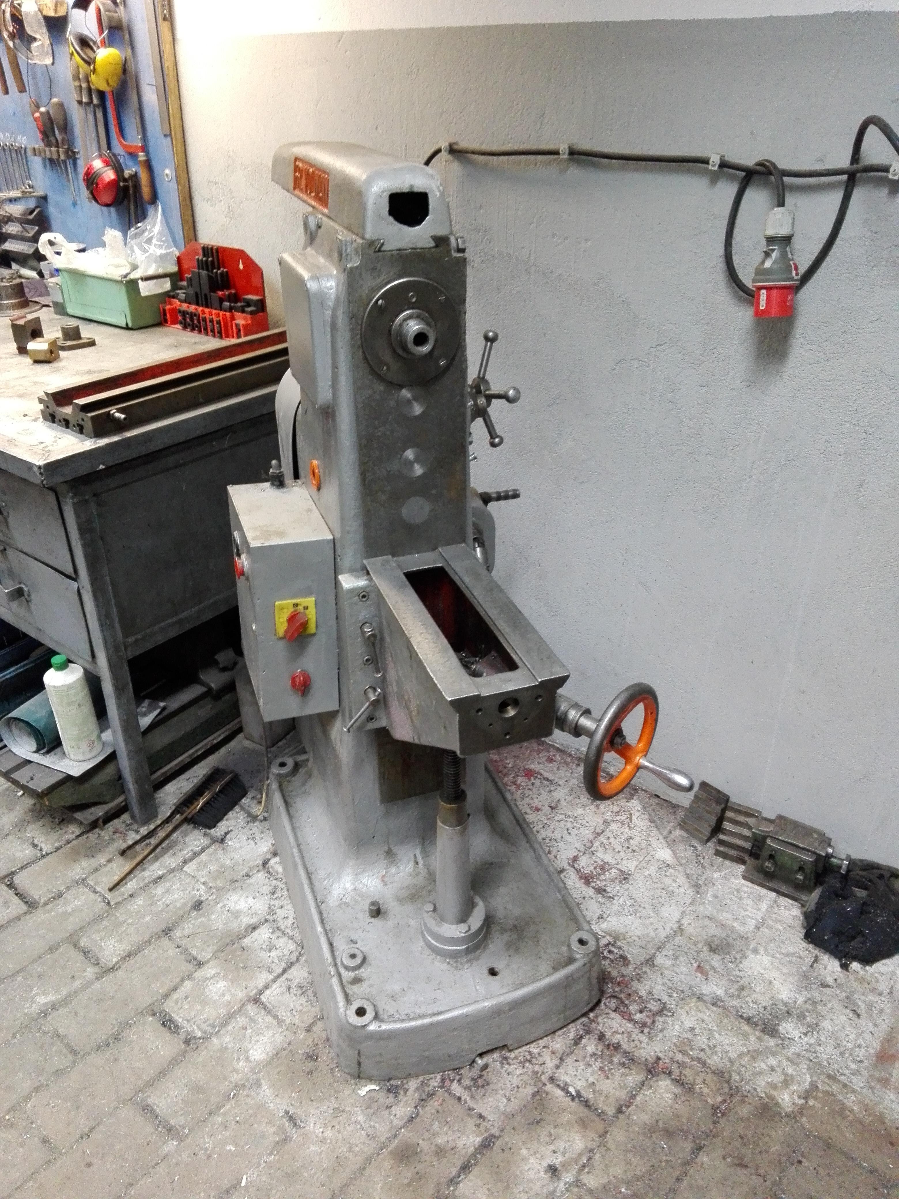 Tylko na zewnątrz Remont i modernizacja małej frezarki - cnc.info.pl - FORUM CNC ZO31