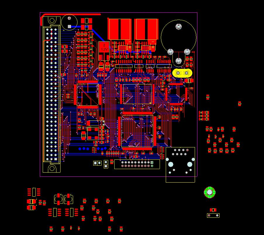 Ethernet Motion Controller / IP + MACH3 CSMIO-IP-P po LAN-ie - cnc
