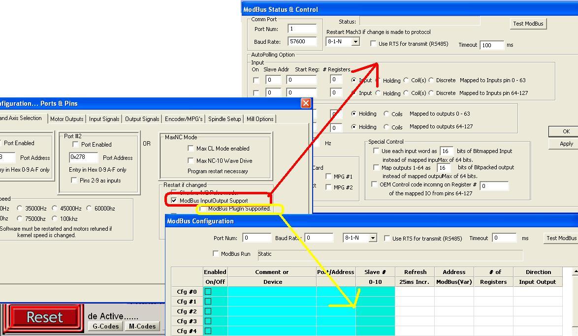 Modbus RTU konfiguracja - cnc info pl - FORUM CNC