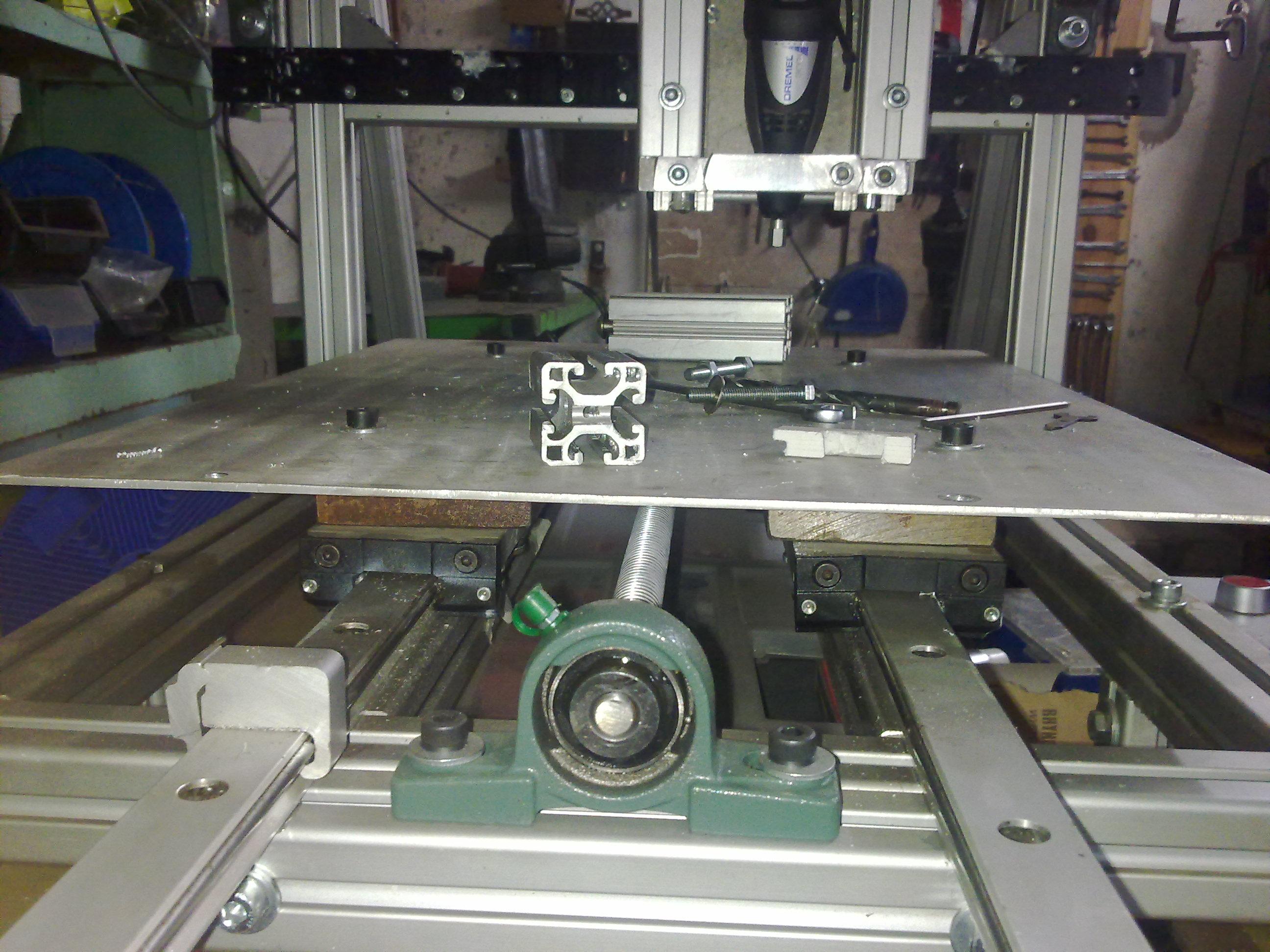 Bardzo dobra Frezarka konstrukcyjne profile aluminiowe ITEM wykonanie - cnc WX87