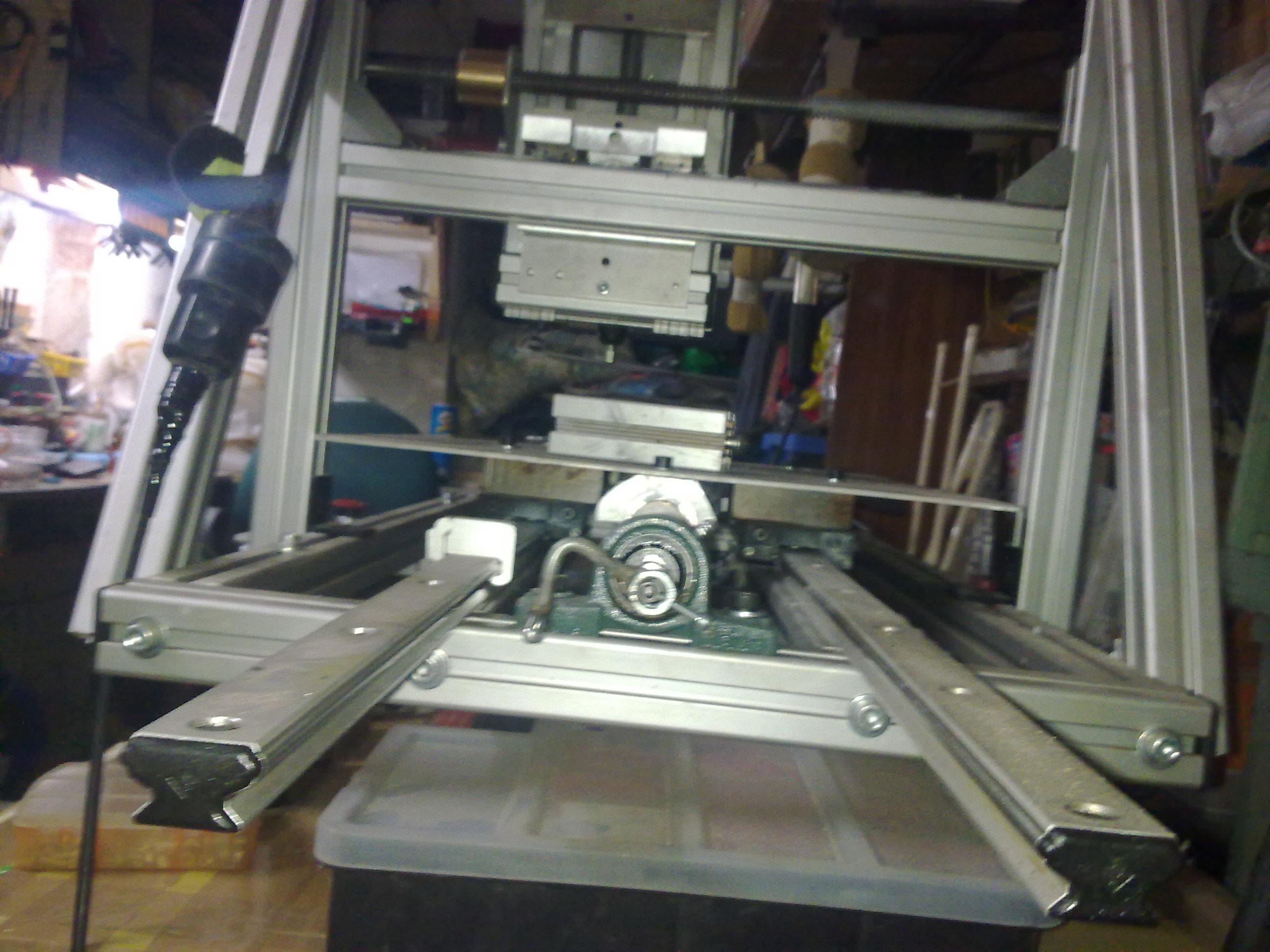 Aktualne Frezarka konstrukcyjne profile aluminiowe ITEM wykonanie - cnc TT23
